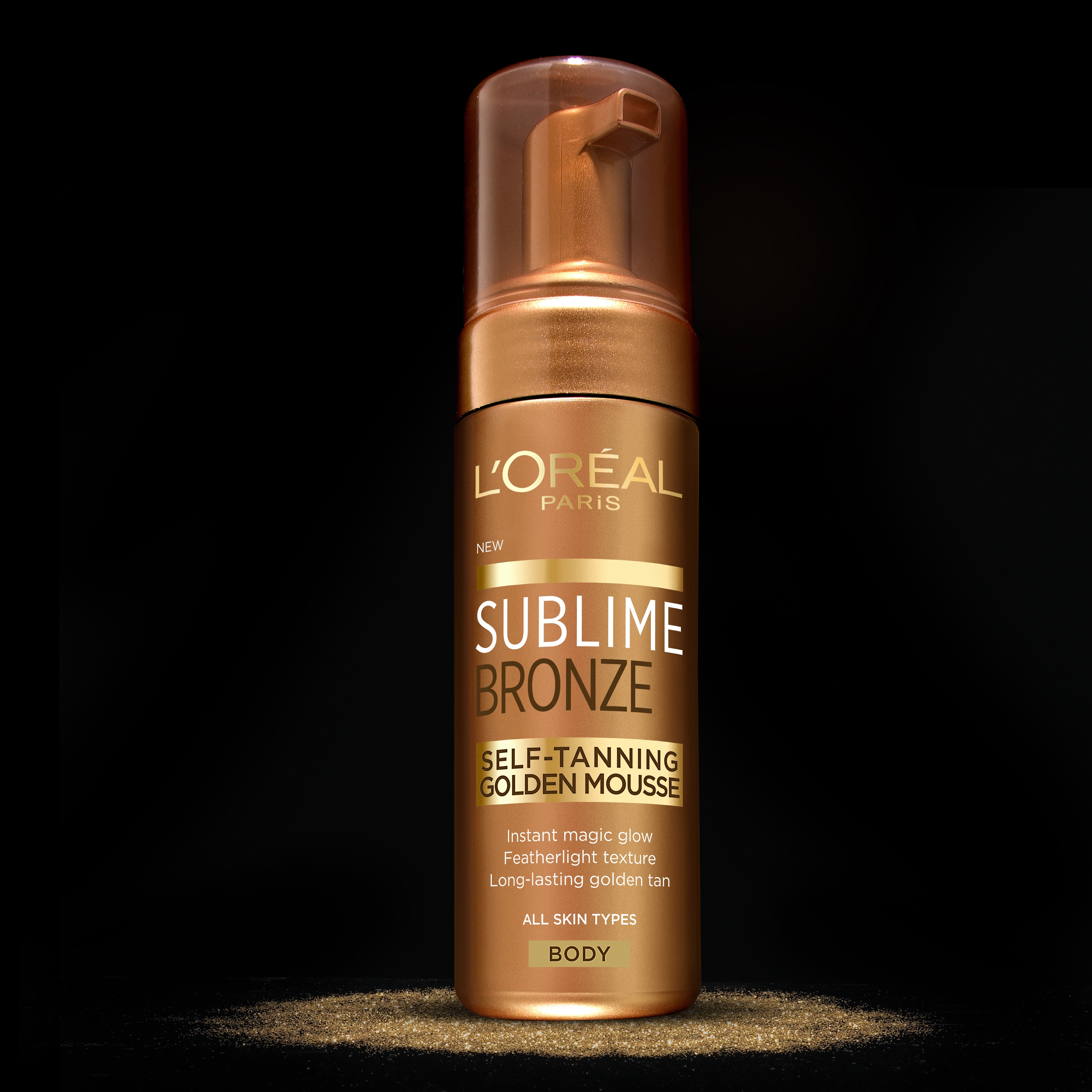 L'Oréal Paris Sublime Golden Mousse -itseruskettava vaahto - L'Oréal Finland Oy