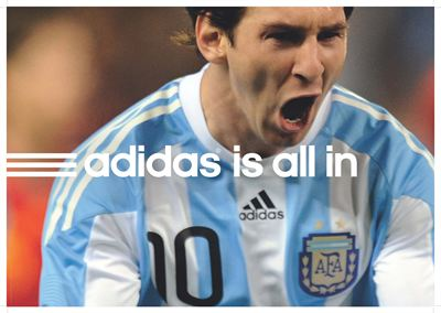 adidas all in Messi