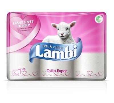 Lambi toalettpapper erbjudande