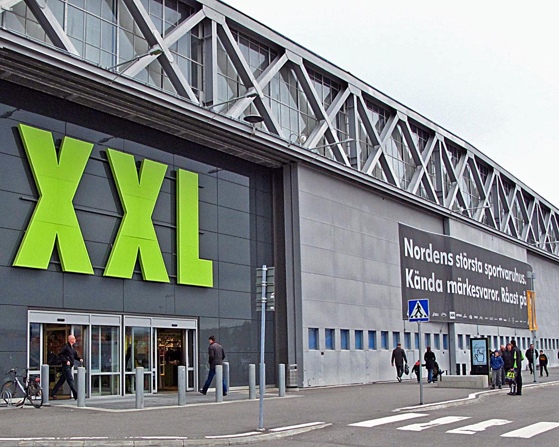 xxl sport kluuvi