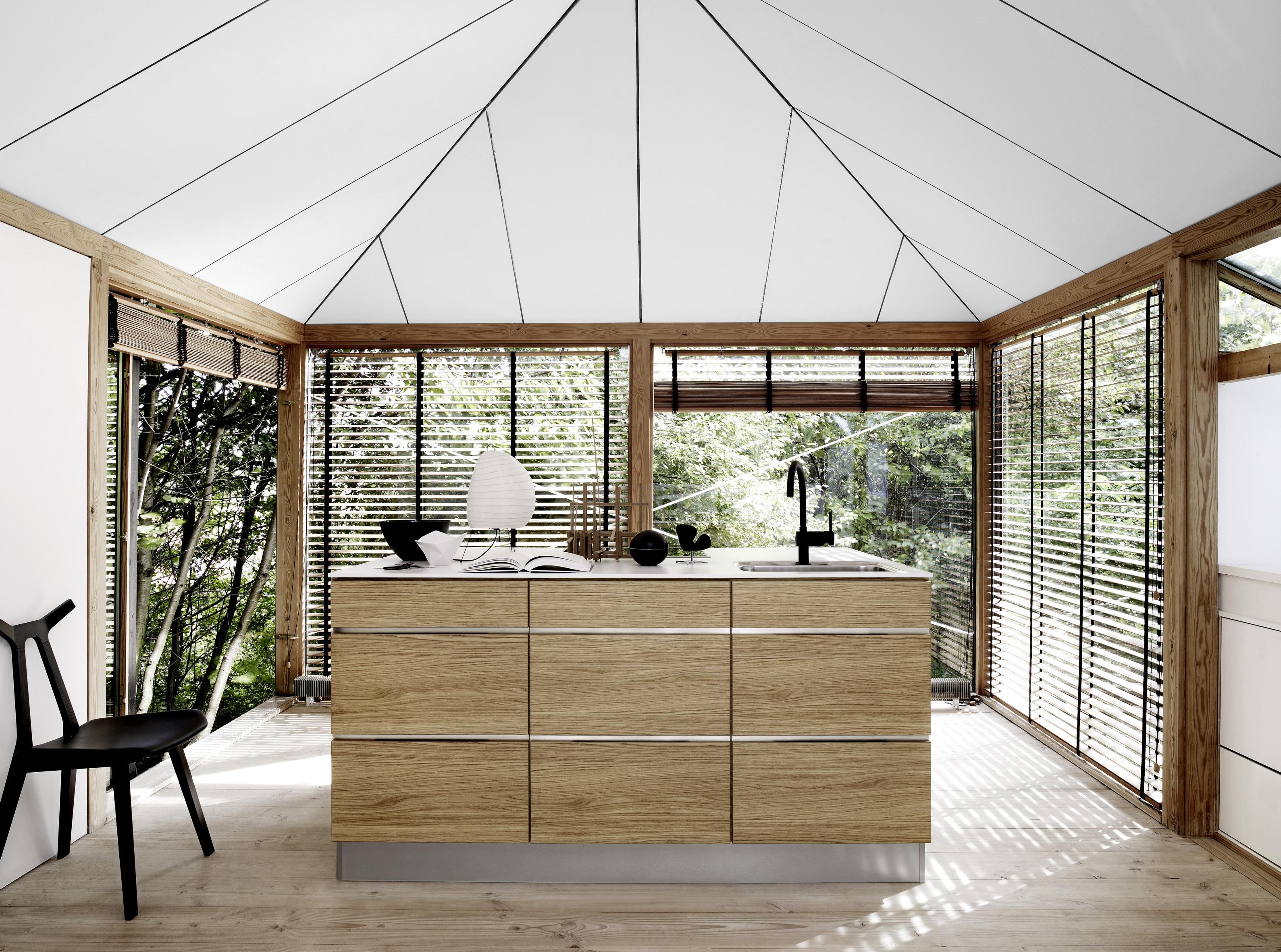 Foto1 kvik mano forte kvik - Foto grijze keuken en hout ...