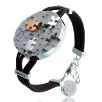 Stylish Puzzle Bracelet - collection Full of AWARENESS