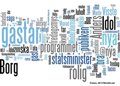 Reinfeldt word cloud