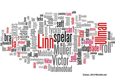 Juholt word cloud