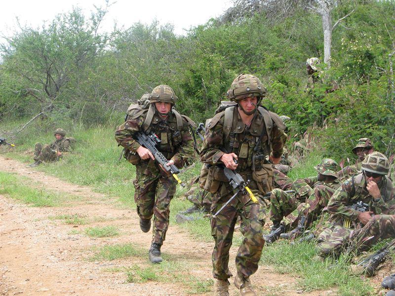 british army hand signals pdf