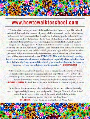 How to Walk to School wlibrary quote, back
