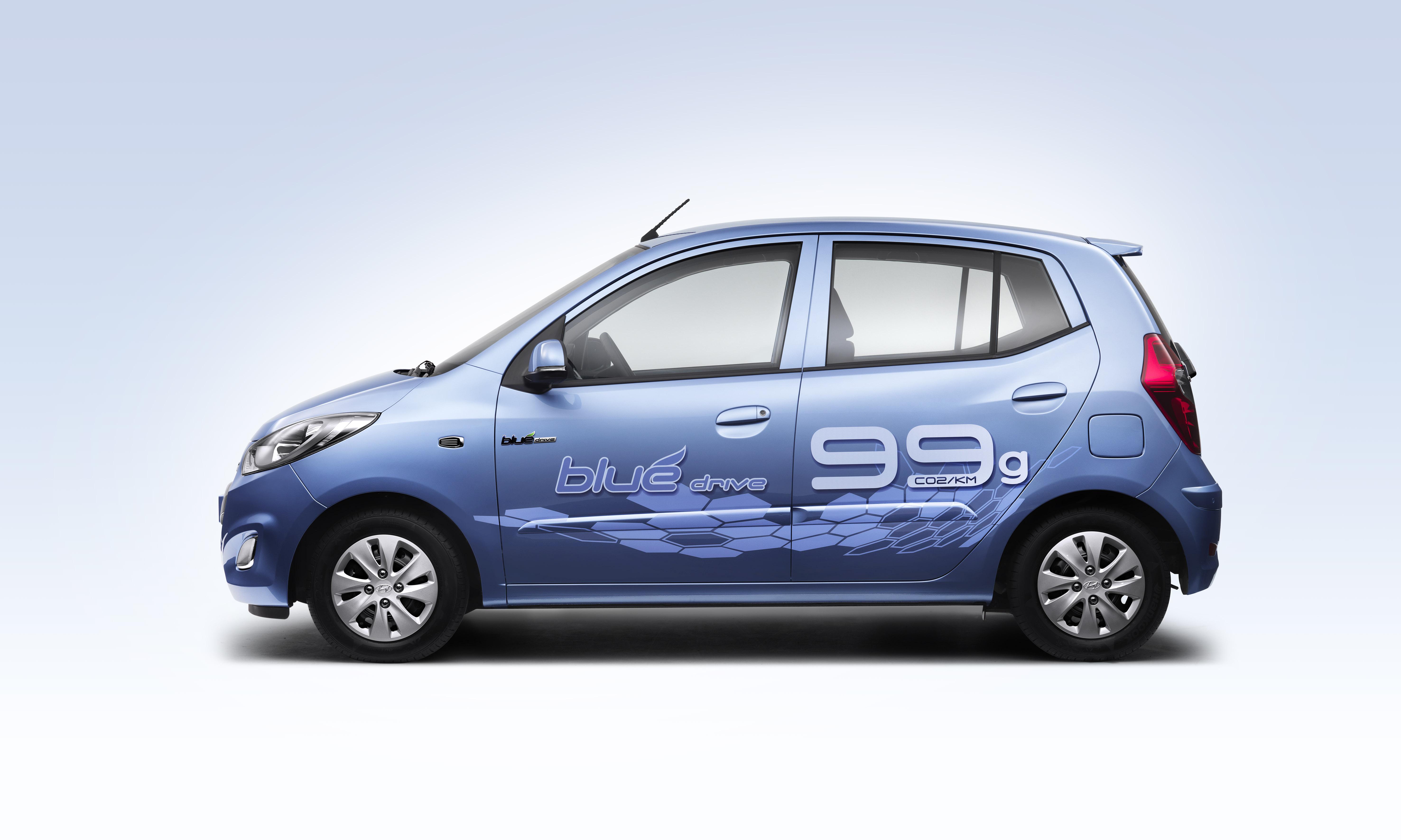 I10 Blue 5 Jpg Hyundai Motor Company