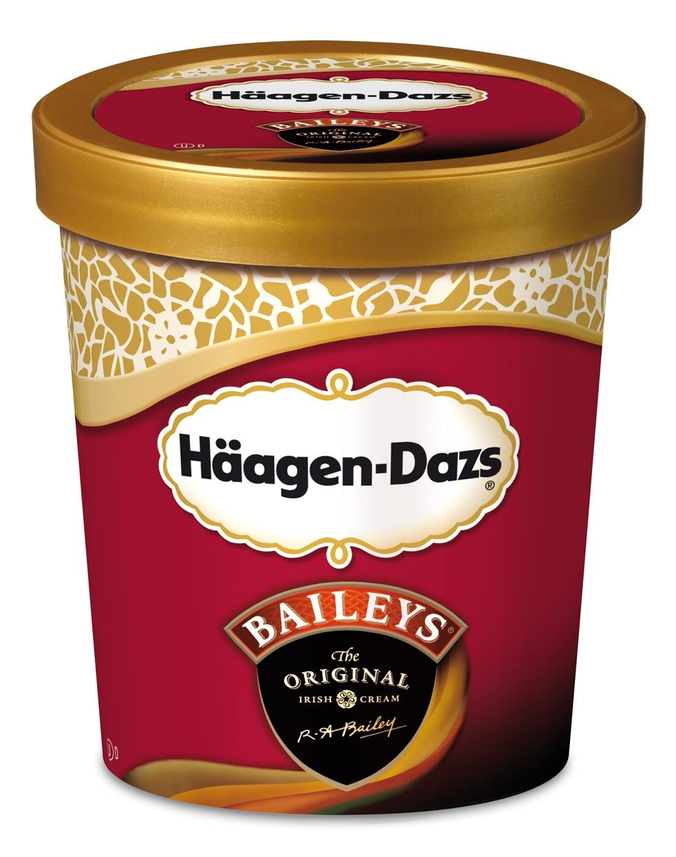 haagan daz Ice cream under every lid, a sweet reward awaits decadent collection banana peanut butter chip.