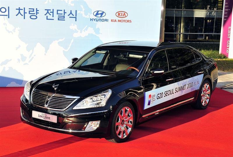 Hyundai Hand Over Official Vehicles For G20 Hyundai Motor Company