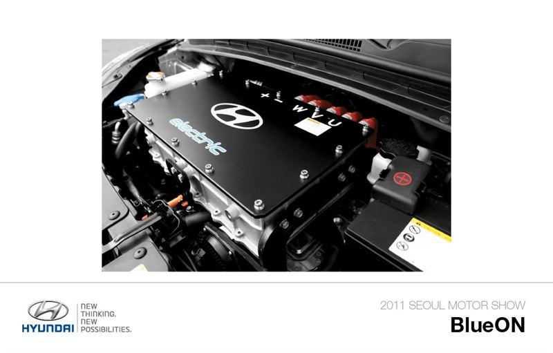 Blueon 5 Hyundai Motor Company