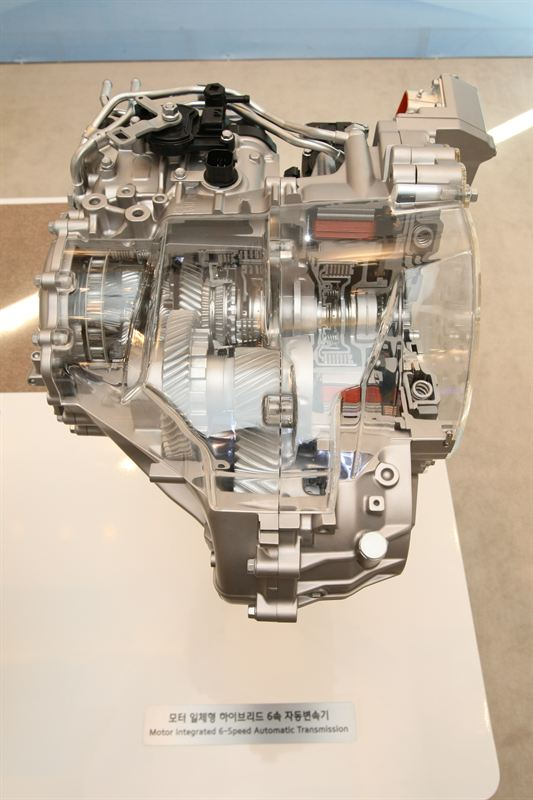 Motor Integrated 6 Speed Automatic Transmission Hyundai
