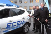 Hyundai joins European fuel cell electric vehicle demonstration program, H2moves Scandinavia_1