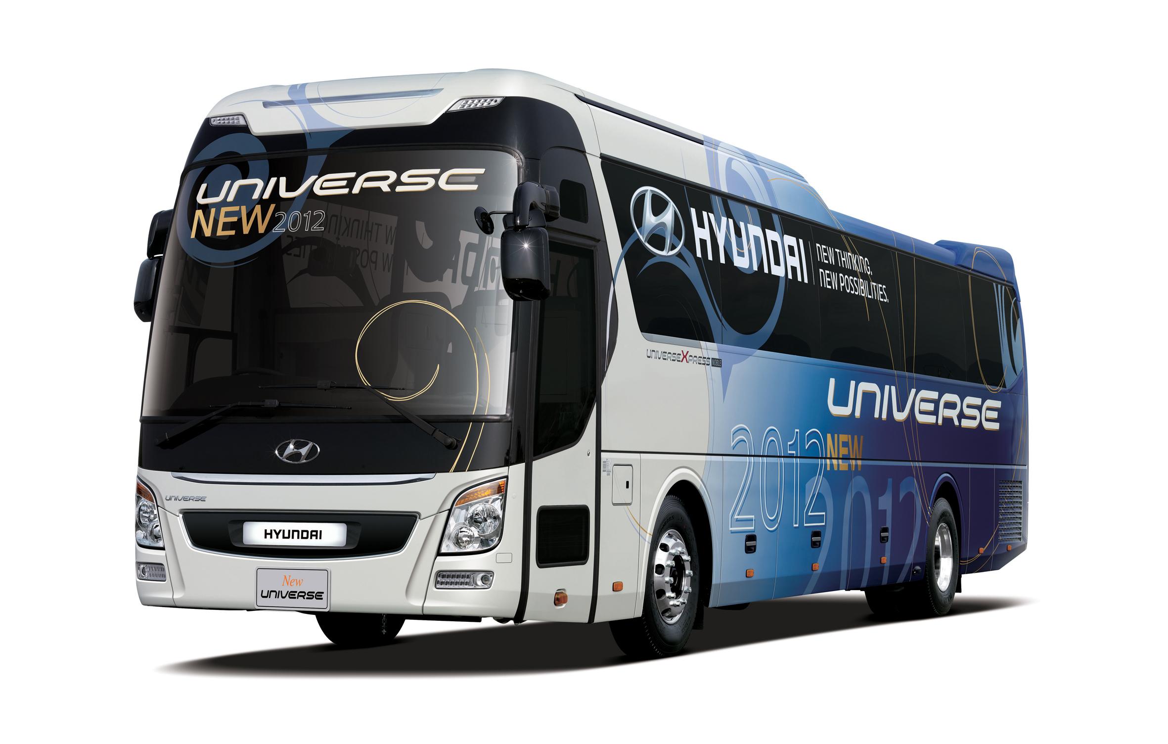 Hyundai universe 6 hyundai motor company