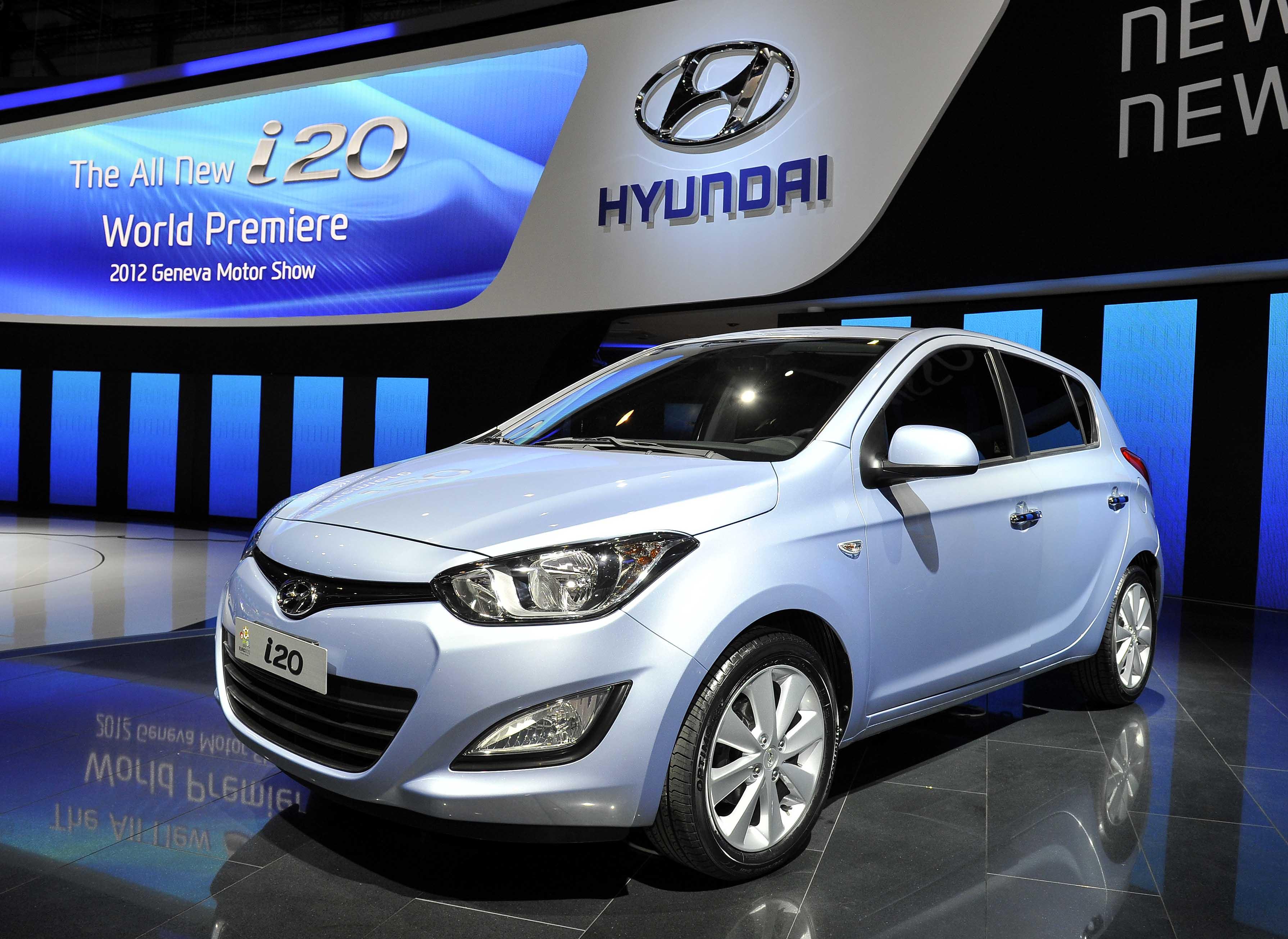 2012 Geneva Motor Show Hyundai Booth All New I20 3