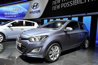 2012 Geneva Motor Show_Hyundai Booth_All new i20_2
