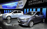 2012 Geneva Motor Show_Hyundai Booth_All new i20_1