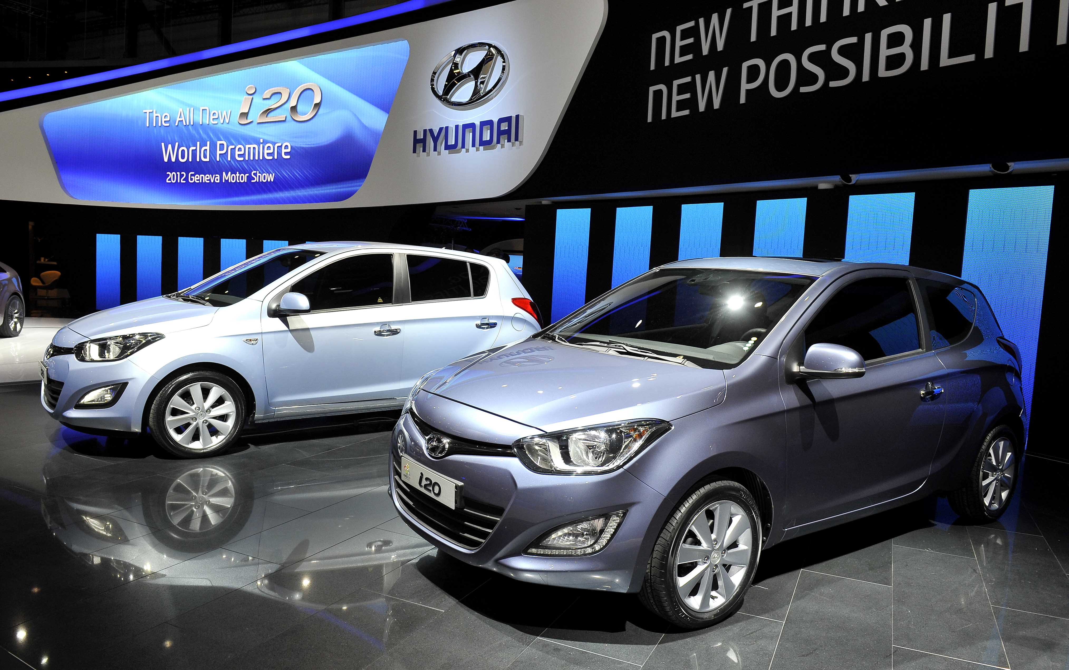 2012 geneva motor show hyundai booth all new i20 1 for Hyundai motor company usa