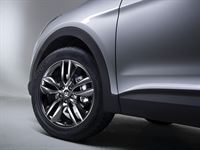 Hyundai Santa Fe_19-inch aluminum wheel