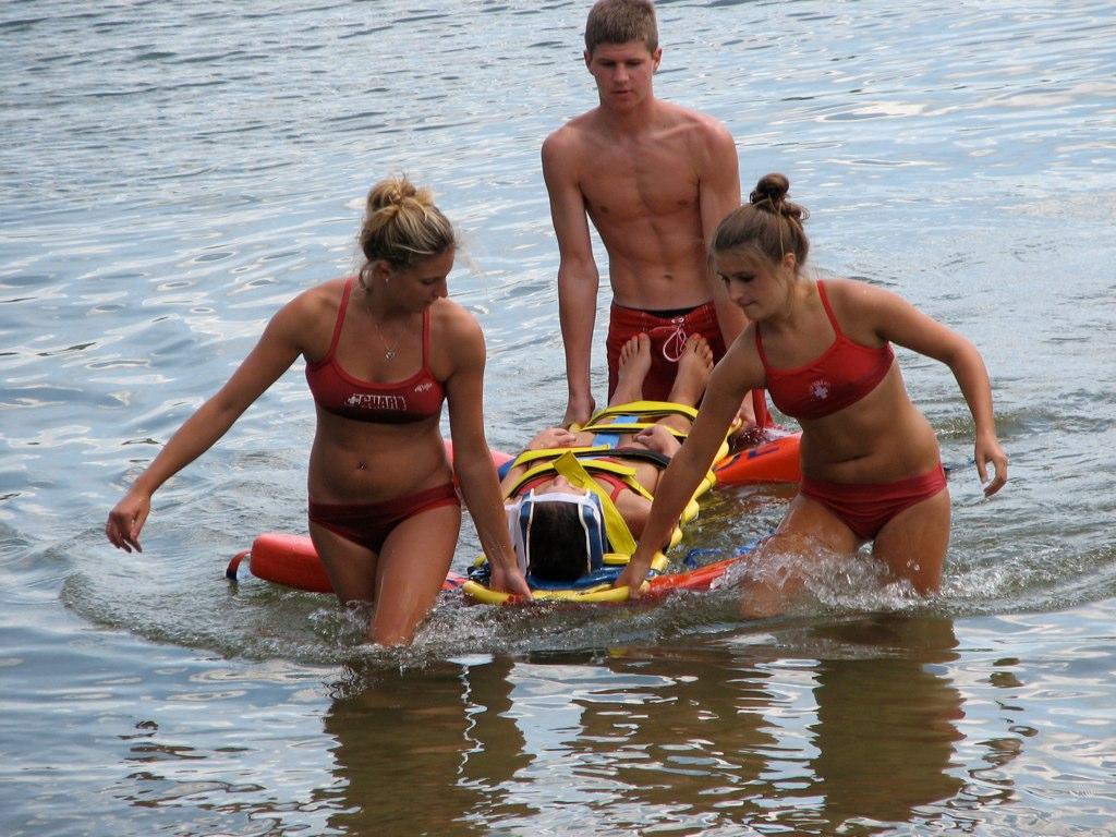 Water rescue underway - Story