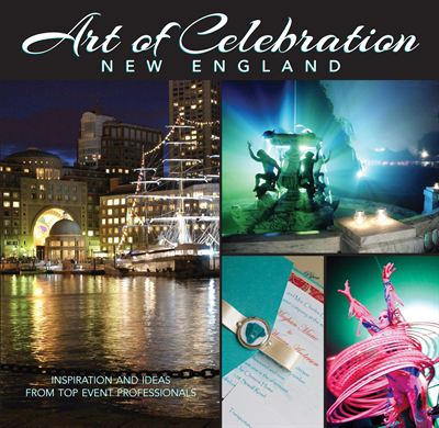 Art of Celebration New England book cover