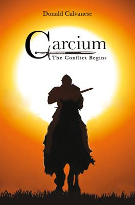 Book Cover Of Carcium - The Conflict Begins