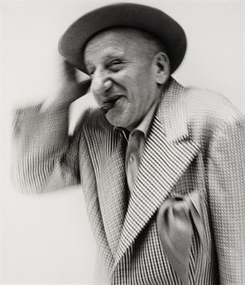 Richard Avedon: Jimmy Durante, 1970