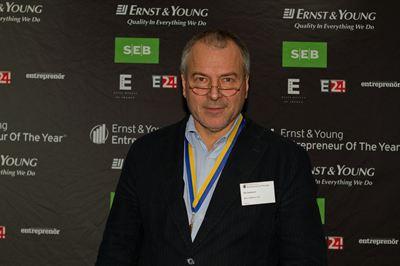 Ola Oskarsson, Marin Mätteknik AB, från Göteborg är en av Sveriges främsta entreprenörer