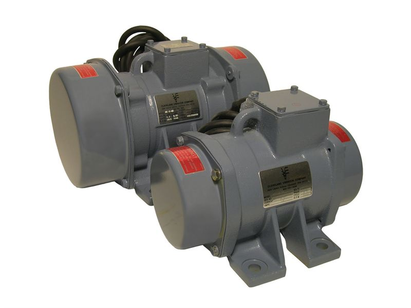 Cleveland Vibrator Company Rotary Electric Motor Stevens