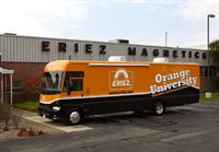 Eriez Orange University Mobile Unit