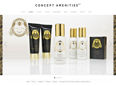 Luxury Collections by Concept Amenities