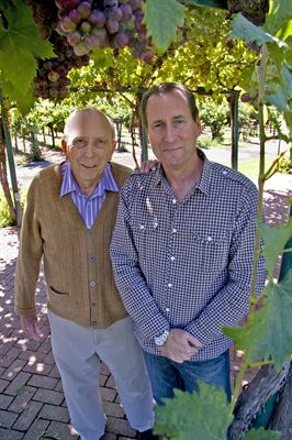 Jim and John Concannon, 3rd and 4th Generation Vintners