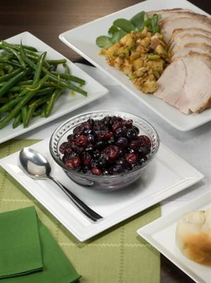 Chilean Fresh Blueberry and Cranberry Relish