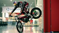 Dougie Lampkin Takes Over ExCeL