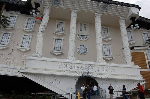 New Wonderworks Museum At Myrtle Beach South Carolina