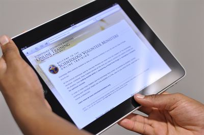Tablet users now gain instant access to life skills training free of charge through online Scientology Volunteer Ministers courses.