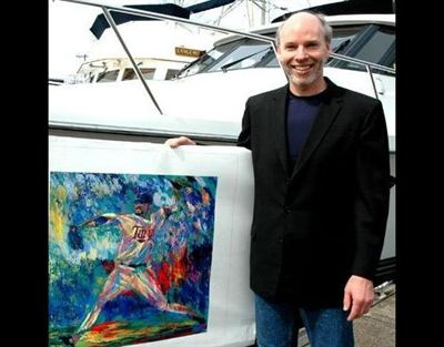 Scientologist and artist Robert Blehert.