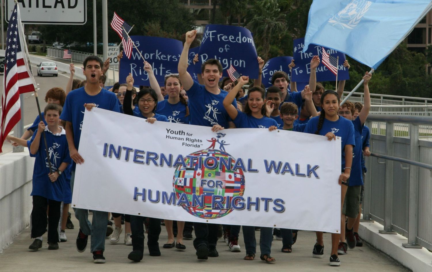 youth for human rights Explore critical human rights issues in their communities and around the world, engage with a diverse range of peers from across the state, and develop the values and skills necessary to take action in support of human rights for all.
