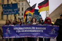 German Human Rights March