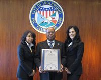 Inglewood City Councilman Ralph Franklin presented a proclamation honoring Scientology Founder L. Ron Hubbard and the Church of Scientology of Inglewood, on March 8, 2012, marking the 101st anniversary of the birth of  L. Ron Hubbard.