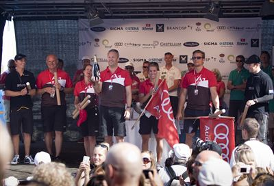 Audi vinnare i Celebrity Race 100709, Stena Match Cup Sweden_DL3311