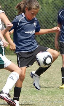 Lanier Soccer offers great club programs at an affordable price.