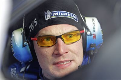 Jari-Matti Latvala in Rally Sweden 2012