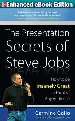 Steve Jobs Enhanced eBook Presentation Secrets