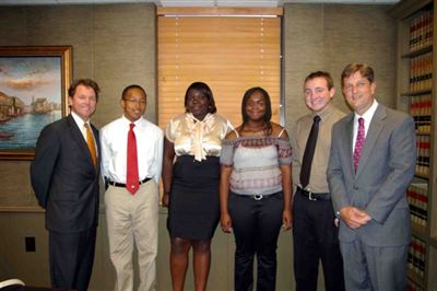 This is the sixth year Joye Law Firm has awarded South Carolina students with college scholarships.