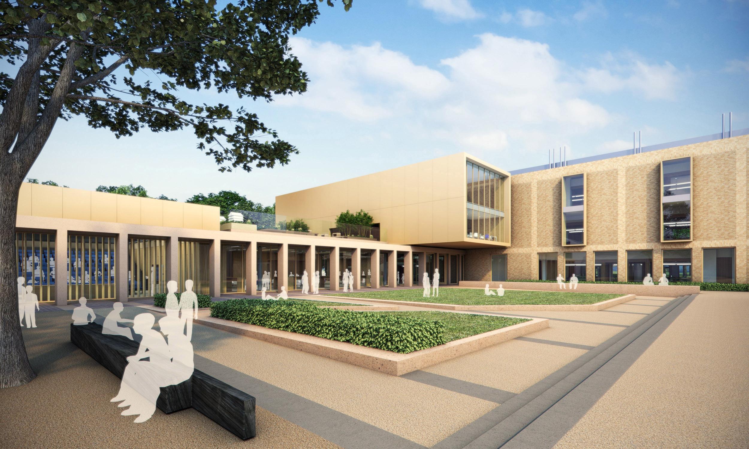Uppingham Science Building Stratton Reekie