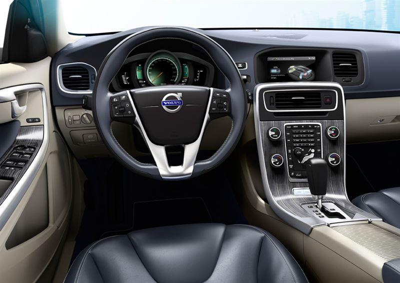V60 interior low - Vattenfall & Volvo