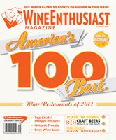 Wine Enthusiast Magazine August 2011
