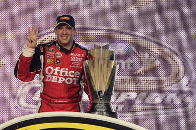 Tony Stewart at the Homestead championships