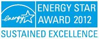 2012 ENERGY STAR Sustained Excellence Award