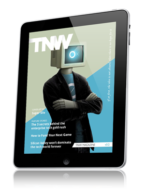 TNW first iPad magazine on Mag+